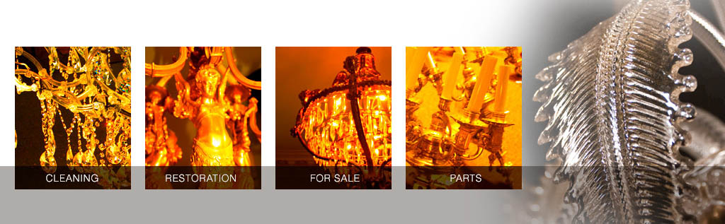 Milton\'s Chandeliers - Chandelier Cleaning, Restoration and Sales